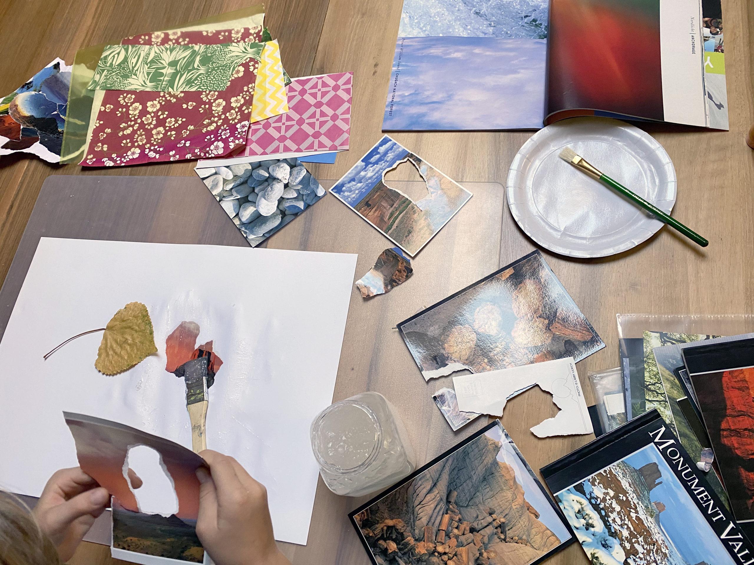 Un atelier d'art-thérapie à Chauderon